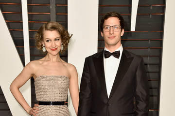 Andy Samberg Arrivals at the Elton John AIDS Foundation Oscars Viewing Party — Part 5