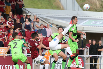 Andy Williams Northampton Town vs. Forest Green Rovers - Sky Bet League Two
