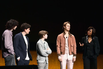 Aneurin Barnard Ansel Elgort CinemaCon 2019 - Warner Bros. Pictures Invites You To 'The Big Picture,' An Exclusive Presentation Of Its Upcoming Slate