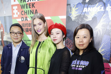 Angel Chen TMall China Day: Angel Chen - Backstage - September 2018 - New York Fashion Week