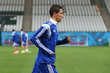 Angel Di Maria Argentina Training Session