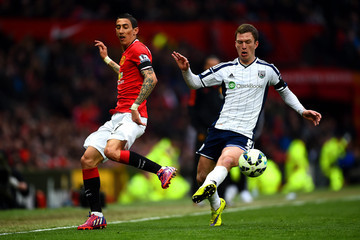 Angel Di Maria Manchester United v West Bromwich Albion - Premier League