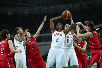Angel McCoughtry Basketball - Olympics: Day 11