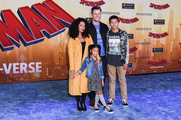 Angel Parker World Premiere Of Sony Pictures Animation And Marvel's 'Spider-Man: Into The Spider-Verse' - Red Carpet