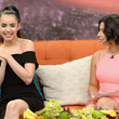 Angela Aguilar Celebrities On The Set Of Univision's 'Despierta America'