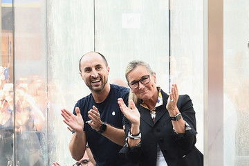 Angela Ahrendts Apple Store Opening In Milan