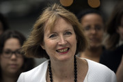 Former Deputy Leader of the Labour Party, Harriet Harman, arrives to attend a press conference held by former shadow business secretary Angela Eagle in which Eagle announced her intention to challenge Jeremy Corbyn for leadership pf the Labour Party, on July 11, 2016 in London, England. Mr Corbyn has faced numerous frontbench resignations, but has said he would not betray the party members, who elected him last year, by standing down.