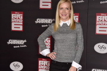 "Angela Kinsey Premiere Of Disney's ""Big Hero 6"" - Arrivals"