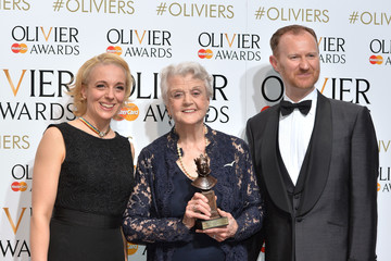 Angela Lansbury The Olivier Awards - Winners Room