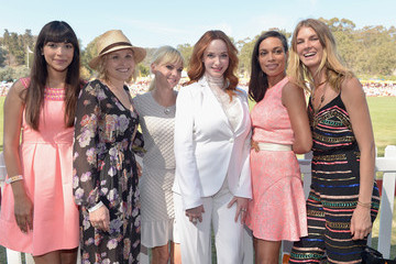 Angela Lindvall Fifth-Annual Veuve Clicquot Polo Classic, Los Angeles