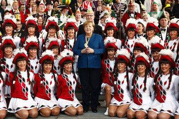 Angela Merkel European Best Pictures Of The Day - January 22
