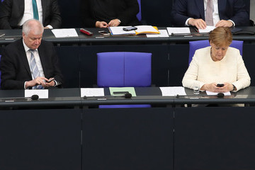 Angela Merkel Horst Seehofer The Day After Compromise, A Fragile Peace Settles On German Government