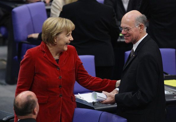 New Bundestag Meets For The First Time