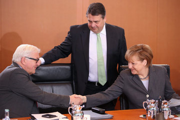 Angela Merkel Government Cabinet Seeks Reform