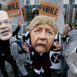 Angela Merkel European Best Pictures Of The Day - January 29