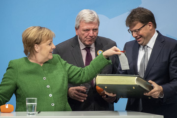 Angela Merkel European Best Pictures Of The Day - October 25, 2018