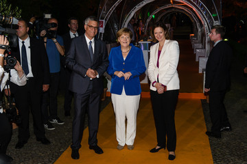 Angela Merkel ZDF Summer Reception