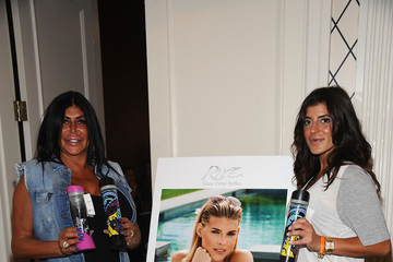 Angela Raiola Raquel Donofrio GBK & Sparkling Resort Fashionable Lounge During New York Fashion Week - Day 2