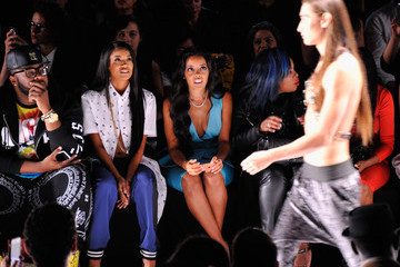 Angela Simmons Art Hearts Fashion Presented By AIDS Healthcare Foundation - Front Row - Mercedes-Benz Fashion Week Spring 2015