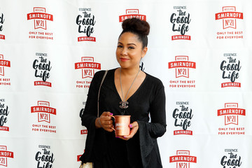 Angela Yee The SMIRNOFF Good Life Day Party Hosted by Lance Gross and Angela Yee at ESSENCE Festival 2017