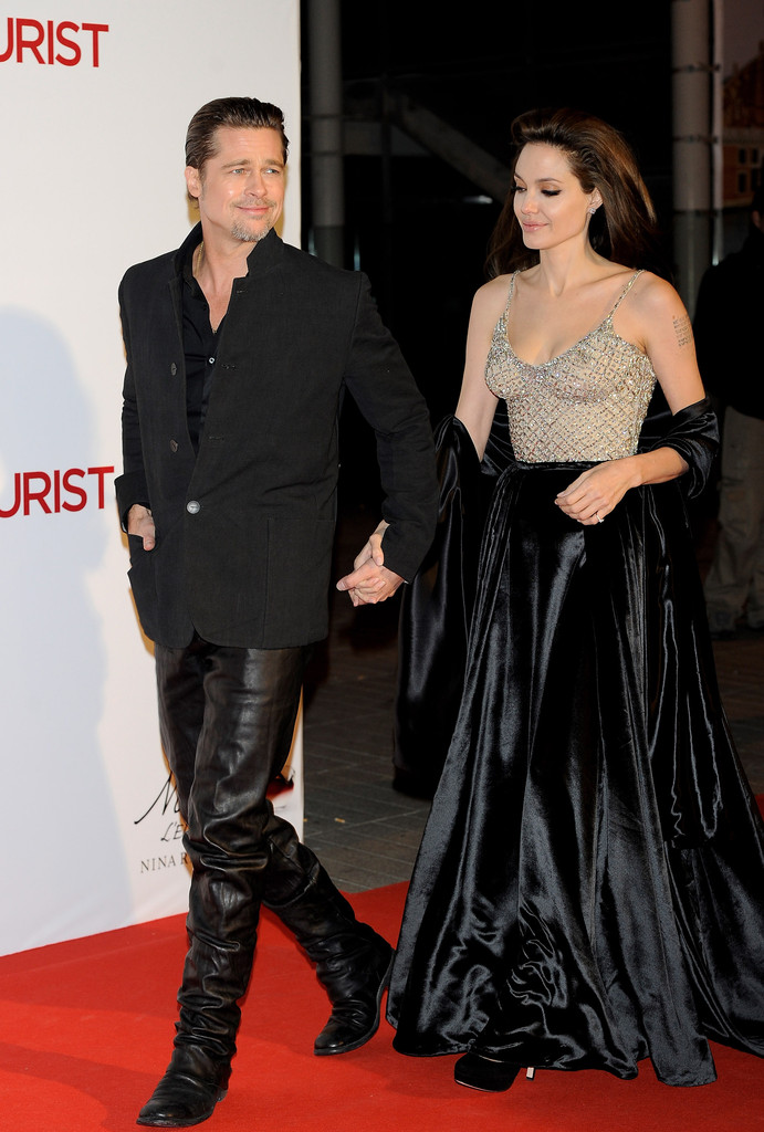 angelina jolie and johnny depp attend the tourist madrid