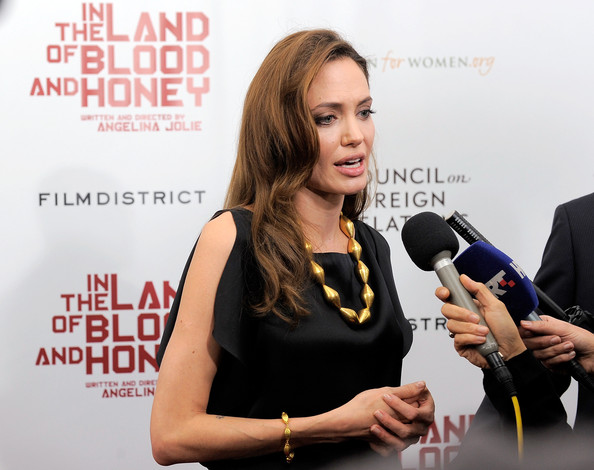 """""""In The Land Of Blood And Honey"""" New York Premiere - Outside Arrivals"""