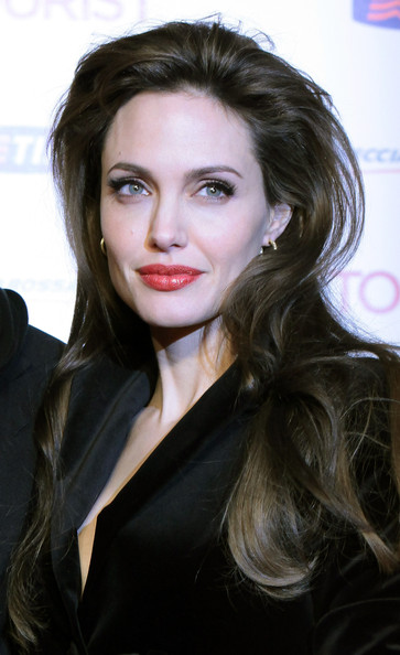 "Angelina Jolie Angelina Jolie attends ""The Tourist"" premiere at The Space Cinema on December 15, 2010 in Rome, Italy."