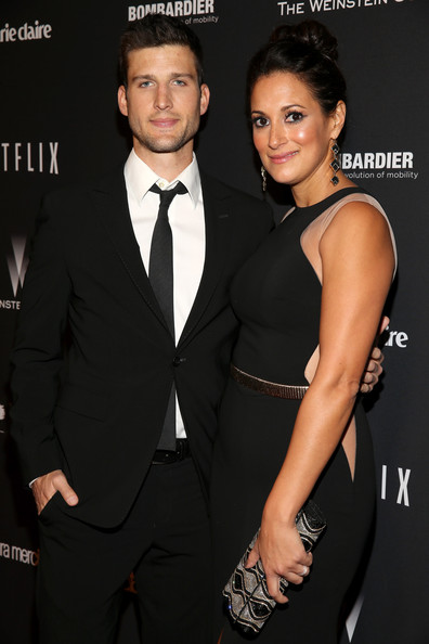 Stars at the Weinstein Company/Netflix's Golden Globes Afterparty [suit,formal wear,tuxedo,little black dress,muscle,dress,event,premiere,fashion accessory,style,fiji water,laura mercier,parker young,marie claire and yucaipa films,party,weinstein company,lexus,bombardier,netflix,2014 golden globes]