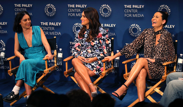 The Paley Center For Media's 2019 PaleyFest Fall TV Previews - Amazon - Inside [paleyfest fall tv previews - amazon - inside,event,fashion,performance,news conference,talent show,constance marie,angelique cabral,rosa salazar,l-r,the paley center for media,california,beverly hills,paley center for media,amazon]