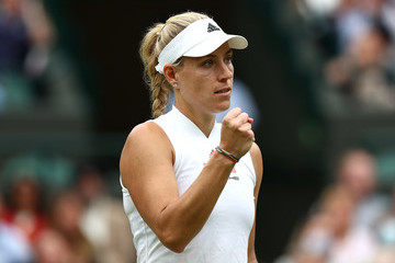 Angelique Kerber Day Eight: The Championships - Wimbledon 2021
