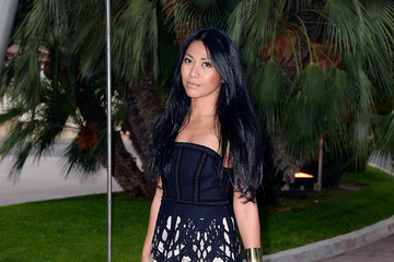 Anggun Arrivals at the World Music Awards