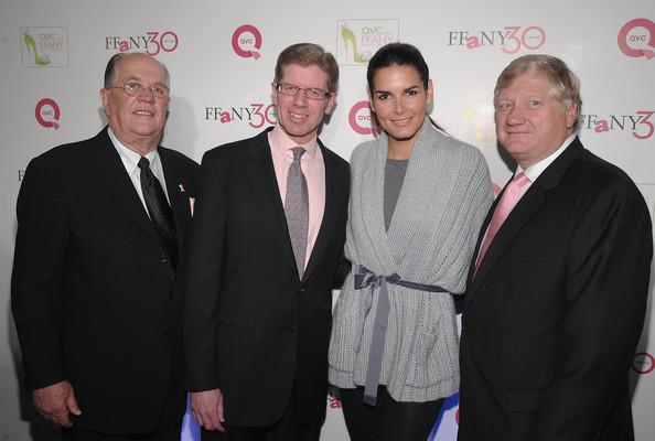 """QVC Presents """"FFANY Shoes on Sale"""" Benefit for Breast Cancer Research and Education - Arrivals [event,premiere,award,businessperson,white-collar worker,ffany shoes on sale,benefit,qvc presents,education,breast cancer research,ceo,angie harmon,ronald fromm,president,arrivals]"""