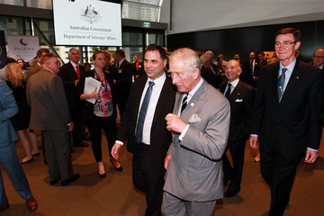 Angus Houston The Prince of Wales & Duchess of Cornwall Visit Australia - Day 3
