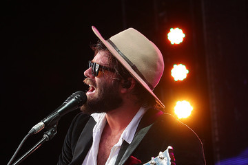 Angus Stone Off Court At The 2019 Australian Open