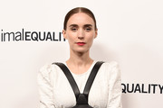 Actress Rooney Mara arrives at the Animal Equality's Inspiring Global Action Los Angeles Gala at The Beverly Hilton Hotel on October 27, 2018 in Beverly Hills, California.