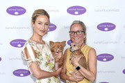 Carolyn Murphy and Animal Haven Director Tiffany Lacey attend the Animal Haven Gala 2019 at Tribeca 360 on May 22, 2019 in New York City.