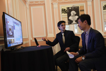 Anish Giri Grandmasters Compete In the World Chess Championship At Simpson's In The Strand