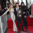 Anita Pointer Andy Madadian Honored With A Star On The Hollywood Walk Of Fame