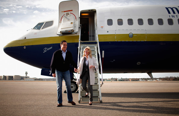 Ann Romney - Mitt Romney Takes His Presidential Campaign To New Hampshire