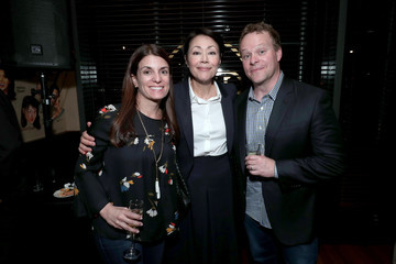 Ann Curry Showtime's World Premiere Of 'The Fourth Estate' At Tribeca Film Festival After Party At THE PALM TRIBECA