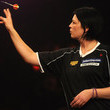 Ann Louise Peters BDO Lakeside World Professional Darts Championships - Day One