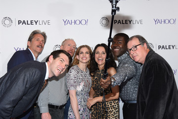 Anna Chlumsky Matt Walsh The Paley Center For Media Hosts An Evening With The Cast Of 'Veep'