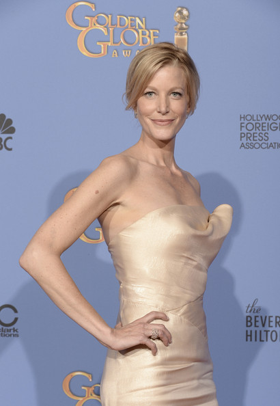 Anna Gunn - Press Room at the Golden Globe Awards