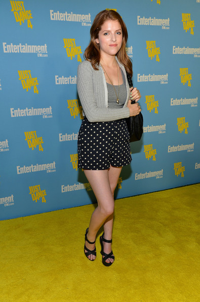 Anna Kendrick PhotosPhotostream Main Articles Pictures Entertainment Weeklys 6th Annual Comic Con Celebration Sponsored By Just Dance 4