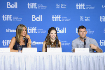Anna Kendrick 'Cake' Press Conference 2014 Toronto International Film Festival