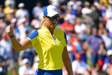Anna Nordqvist The Solheim Cup - Day Two