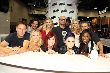 Anna Paquin Sam Trammell Warner Bros. At Comic-Con International 2014