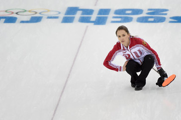 Anna Sidorova Curling - Winter Olympics Day 9