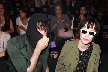 Alice Glass Anna Sui - Front Row - Spring 2012 Mercedes-Benz Fashion Week