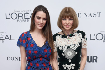 Anna Wintour Bee Shaffer Glamour Celebrates 2017 Women of the Year Awards - Arrivals